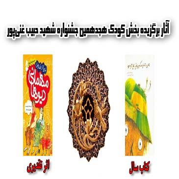 آثار برگزیده بخش کودک هجدهمین جشنواره شهید حبیب غنیپور